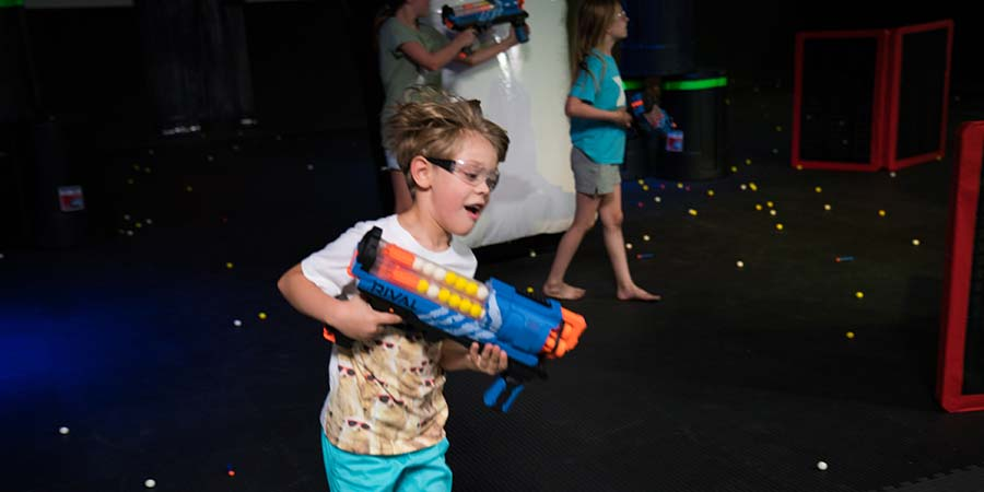 Dart Arena Nerf War Birthday Party